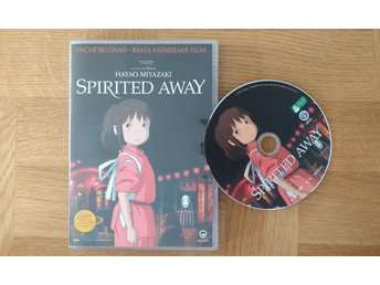 Spirited Away (svenskt tal) Studio Ghibli DVD Anime