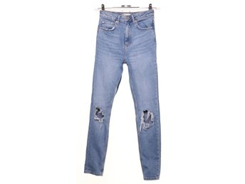 Perfect Jeans Gina Tricot, Jeans, Strl: 34, Blå