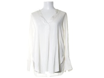 H&M Conscious Collection, Blus, Strl: 38, Vit
