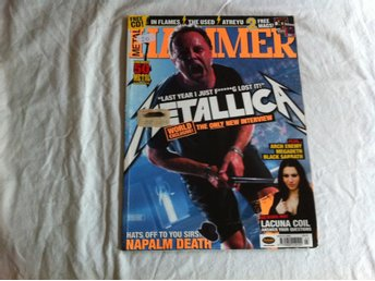 Metal Hammer mars 2005 - Metallica, Lacuna Coil, In Flames, Atreyu, The Used
