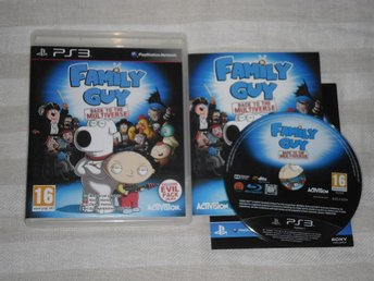 PlayStation 3/PS3: Family Guy: Back to the Multiverse