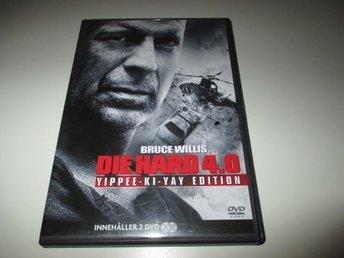 Die Hard 4 - Bruce Willis - 2 disc - Nyskick - Stockholm - Die Hard 4 - Bruce Willis - 2 disc - Nyskick - Stockholm