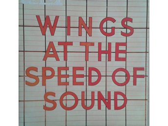 Wings  titel*  Wings At The Speed Of Sound* Pop, Rock UK LP