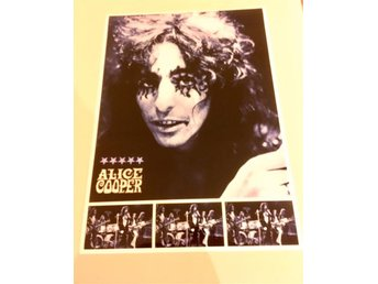 ALICE COOPER POSTER ITALY 1971