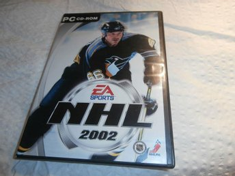 dataspel PC cd room nhl 2002