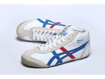 Asics storlek 43 Onitsuka Tiger white blue red gray for man Nya