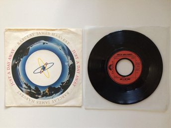 "Barclay James Harvest - Just a day away 7"" vinylsingel NYSKICK"