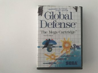 GLOBAL DEFENSE - Sega Master System - Svensksålt
