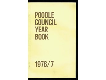 Poodle Council year book 1976/7 (på engelska)
