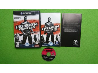 Freedom Fighters KOMPLETT Nintendo Game Cube