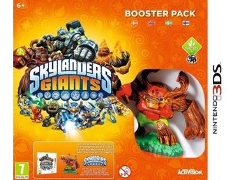 Skylanders Giants: Booster Pack (Beg)