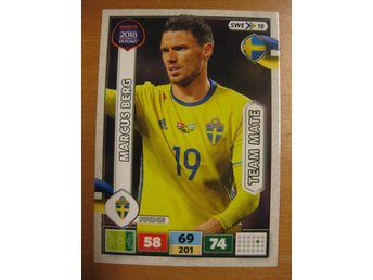 MARCUS BERG - SVERIGE - ROAD TO 2018 FIFA WORLD CUP RUSSIA