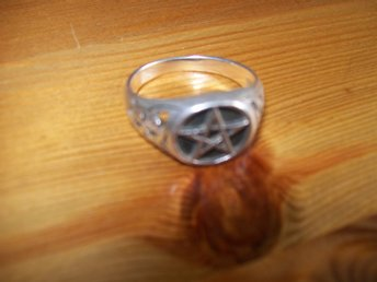 pentagram, ring, new age,