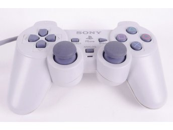Playstation 1 Controller DualShock (White) -  - PAL (EU)