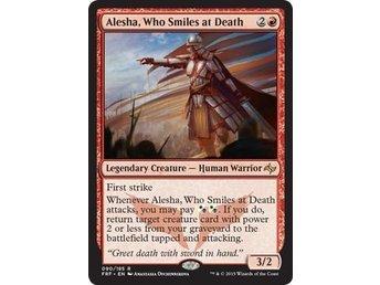 Who Smiles at Death DESTIN VO ENGLISH NEUF MAGIC MTG ★★★ x1 Alesha