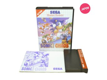 Sonic the Hedgehog Chaos (Svenska versionen Master System)