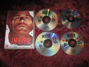 DEXTER - SÄSONG 5 (MICHAEL C.HALL,JENNIFER CARPENTER,DESMOND HARRING) 4-DISC DVD