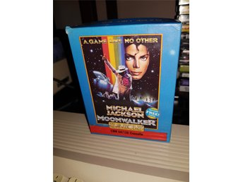 MICHAEL JACKSON MOONWALKER till Commodore 64
