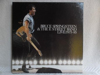 BRUCE SPRINGSTEEN & E STREET BAND - LIVE/1975-85 - 450227 1