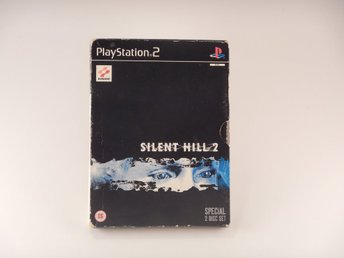 Playstation 2 Ps2  --  Silent Hill 2  --  PAL  --  Dubbel Skiva