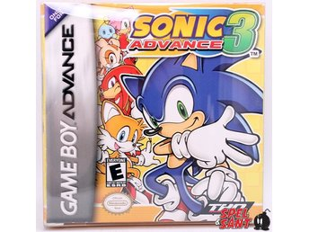 Sonic Advance 3  (inkl.Skyddsbox & Amerikansk Version)