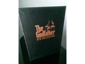THE GODFATHER TRILOGY *Boxset* 5 discar *UTGÅTT* (GUDFADERN)