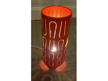Kajuta, bordslampa från Ikea. Typiskt 70 tal