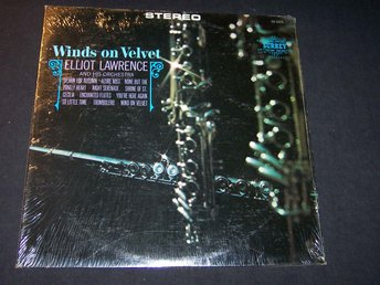 ELLIOT LAWRENCE AND HIS ORCHESTRA - WINDS ON VELVET LP
