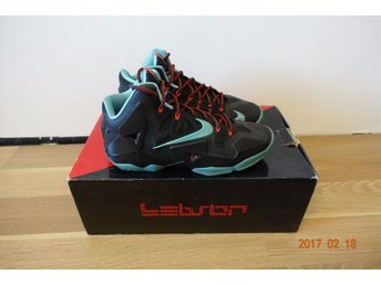 Nike Lebron 11 jade colourway