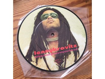 Lenny Kravitz picture disc Bildskiva is There Any Love In Your Heart