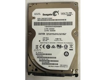 "Steagate thin  Hdd 2.5"" 320Gb SATA felfri"
