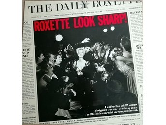 ROXETTE - LOOK SHARP, LP 1988