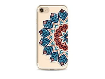 Skal iPhone 7 PLUS med henna mönster . Henna case ..fordal