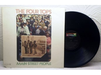 FOUR TOPS - MAIN STREET PEOPLE - US 1973