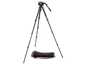 MANFROTTO Stativkit Video MVK504AQ 504HD Väska
