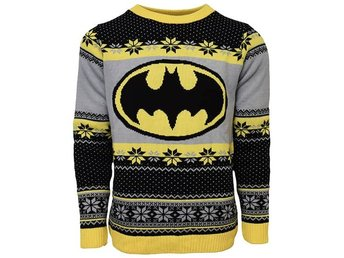 Batman Christmas jumper (L)