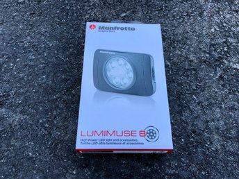 Manfrotto Lumimuse 8 LED-lampa - Helt ny!
