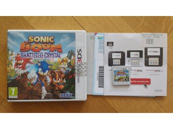 Nintendo 3DS: Sonic Boom: Shattered Crystal