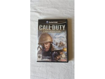 Nintendo Gamecube Call of Duty Finest Hour PAL Italiensk