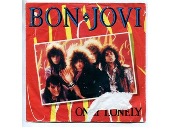 "Bon Jovi -Only lonely/Always run to you 7"" Holland 1985"