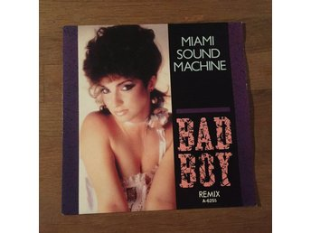 "MIAMI SOUND MACHINE - BAD BOY. (NEAR MINT 7"")"