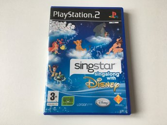 PS2 - SingStar: Singalong with Disney - Playstation
