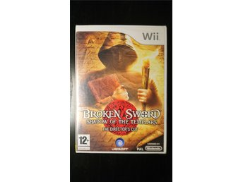 Broken Sword - Shadow Of The Templars till Nintendo Wii (nytt, fabriksinplastat)