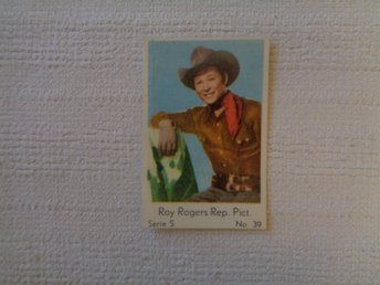 Nr 39 Roy Rogers- Serie S 1957- Stor  text