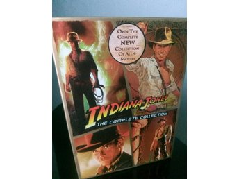 INDIANA JONES *Boxset* 5 discar Svensk text