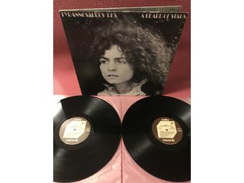 T. REX - A BEARD OF STARS / UNICORN 2-LP GATEFOLD