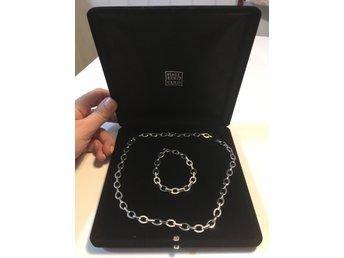 Silver Armband och Halsband från Hallbergs guld (338218928) ᐈ Köp ... ceec8f710ffdb