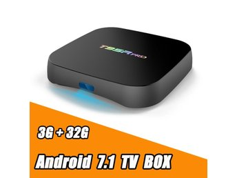 T95R PRO TV Box S912 Android 7.1 TV BOX 3 GB / 32 GB Dual WiFi Media Player