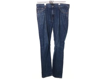Weekday, Jeans, Strl: 33/32, Sharp Amour Blue, Blå