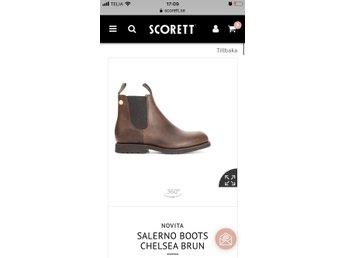 NOVITA Salerno Chelsea Boots Scorett.se